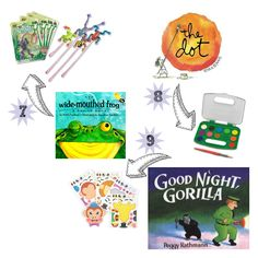 Perfectly paired book + toy gifts for the toddler and preschool set. 10 go-to presents for that next birthday party.