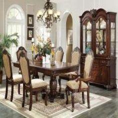 Chateau De Vilie Traditional Dining Room 7 Pcs Set Includes 60875 Amazing Traditional Dining Room Set Design Decoration