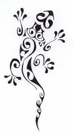 henna lizard design by april-mo, via Flickr
