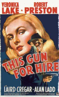 Vintage Movie Poster Fridge Magnet Veronica Lake This by Vividiom, $3.50