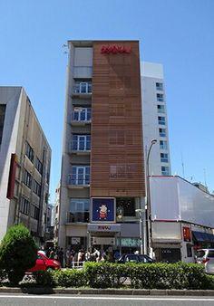 みそかつ矢場とん。本店ビル。建築・店舗デザイン;名古屋 スーパーボギー http://www.bogey.co.jp