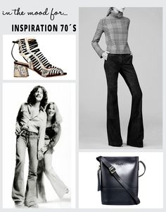 """Revivemos recentemente os anos 60, e é agora tempo de avançar uma década. O estilo de 1970 voltou, com as calças flare ou """"à boca de sino""""como são mais conhecidas.   As franjas, o croché e os tecidos brilhantes, a lembrar o """"disco time"""", também estão de volta.   Reviva o passado com estilo!"""