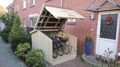 Sie sind auf der suche nach einem Stauraum für ihr Fahrrad? Lesen Sie hier mehr über innovative Fahrradgaragen.