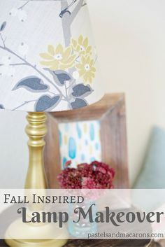 DIY Lamp Makeover by