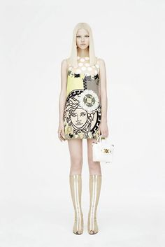 Versace Resort '15 look book