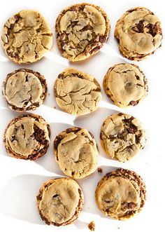 Chocolate Chip Cookies - delicious recipe for using up extra egg yolks