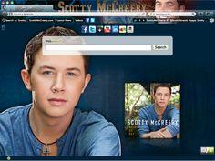 Scotty McCreery Browser Theme - American Idol