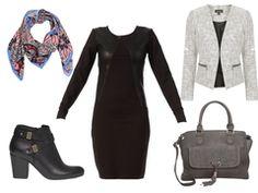 Black rock dress by maarine
