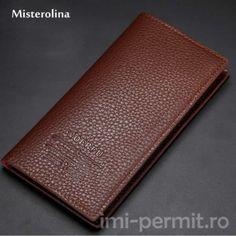 Portofel din piele pentru barbati Slim Wallet, Purse Wallet, Leather Purses, Leather Men, Continental Wallet, Multifunctional, Wallets, Model, Colors