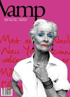 Fashion mag for elders