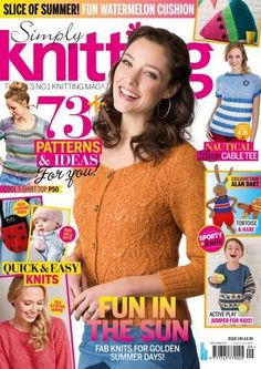 Simply Knitting Issue 149 September 2016 | Martinas Bastel- & Hobbykiste