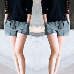 Shorts de Moletom