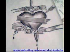dibujos de amor chidos - Google Search