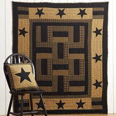 """Delaware Star Patchwork Quilt Throw Blanket 50"""" x 60"""" has arrived!"""