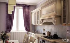 Кухня 1: интерьер, зd визуализация, квартира, дом, кухня, ар-деко, 10 - 20 м2, интерьер #interiordesign #3dvisualization #apartment #house #kitchen #cuisine #table #cookroom #artdeco #10_20m2 #interior arXip.com