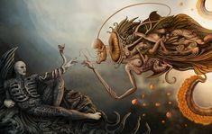 Ilustración: Prometheus a la Miguel Ángel | by Dejan Jovanovic