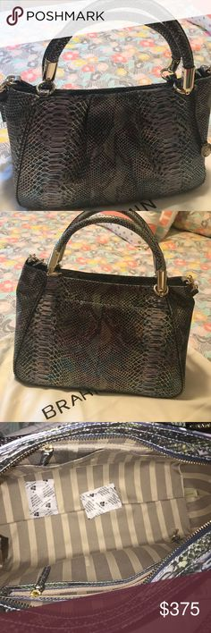 Brahmin bag authentic New Brahmin purse, Ruby Moonstone Seville genuine leather. Description above, my last Brahmin on my closet. Wont let go for cheap sorry Brahmin Bags