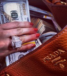 Love the cash but look at that ring