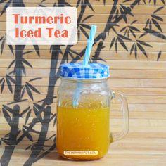 HEALTH DIY: TURMERIC ICED TEA FOR ENERGIZING SUMMER MORNINGS
