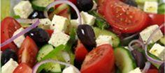 Griekse Feta Salade voor 2 Personen