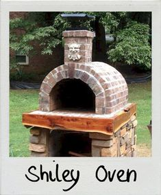 Shiley Wood Fired Brick Pizza Oven in South Carolina by BrickWood Ovens