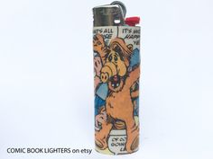 ALF Comic Book Lighter by RemixComicBooks on Etsy
