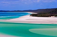 Whitehaven Beach, Australia  This is probably the best beach I have seen!!! need to go back one day!!!