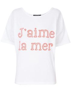 "T-shirt ""J'aime la mer"""