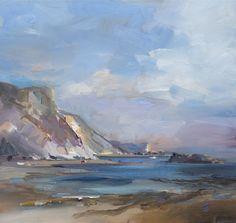 Landscape Art, Landscape Paintings, Acrylic Paintings, Landscapes, Fine Arts School, Book Page Art, Galleries In London, Large Painting, Art Oil