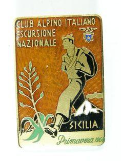 CAI SICILIA 1968 Escursione montagnaClub Alpino