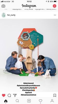 Plant a seed in the heart of your kids room. Play Fun-iture. The Treee can be used from birth of your child until about 10 years old. The Treee has exchangeable pieces depending on the age/ needs of your child. Combines several functions in one piece, is both practical for parents, joyful for kids. 10 Year Old, 10 Years, In The Heart, Joyful, Your Child, Birth, Kids Room, Parents, Family Guy