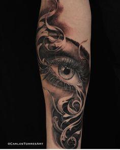 110 vind-ik-leuks, 1 reacties - Realistic_tattoos (@realistic_tattoos) op Instagram: 'Follow us and share !! Instagram : @realistic_tattoos Tattoo Done by @carlostorresart Follow him…'