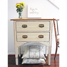 #drawers #dresser Old Ochre #anniesloanchalkpaint {$325} #brisbane #qld #furniturerestoration #paintedfurniture #restoredfurniture #vintage #womenwhodiy #queensland #queenslandcreatives
