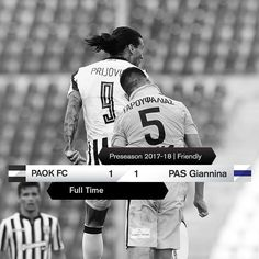 #PAOKPAS 1-1 #friendly