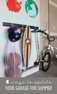 4 Simple Ways to Refresh Your Garage for Summer! #FastTrack #pmedia