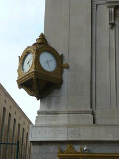 Philadelphia, PA Gimbels Chestnut Street Clock in Center City East, Philadelphia, PA, US by army.arch