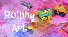 Little Moments: Rolling Art