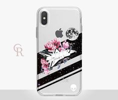 Space Clear Phone Case For iPhone 8 iPhone 8 Plus iPhone X