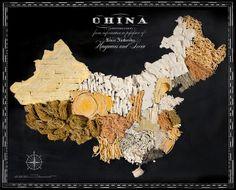 Food Maps: Cina