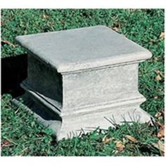 Buy Plain Quadro Garden Pedestal online with free shipping from thegardengates.com