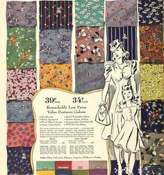 http://www.sewweekly.com/wp-content/uploads/2012/05/fabric-1940-b.jpg --- Love these inspiring 1940s fabric patterns
