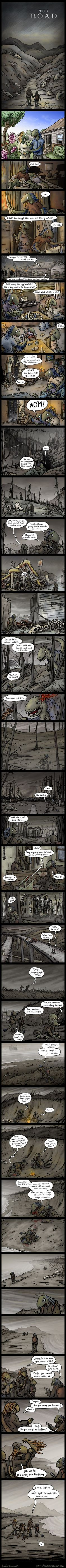 The Road ----- Agh - comic, why do you hurt my feels!!!!
