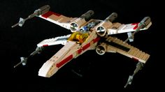 The designer Mike Psiaki has also posted directions for how to make his cleverly constructed x-wing.