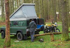 Equipment-Test. Camping in Mirow. 6 Grad und Regen! Ein wahres Island-Test-Wochenende...