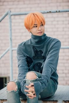 Image result for gdragon orange hair