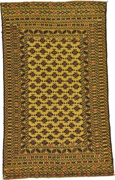Cream 4' x 6' 7 Kilim Afghan Rug | Area Rugs | iRugs UK