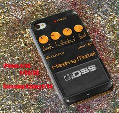 Boss Heavy Metal Pedal case iphone case samsung case by AamiinCase, $12.50
