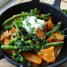 Butternut Squash and Coconut Curry with Spinach and Greens | Lucy & Lentils
