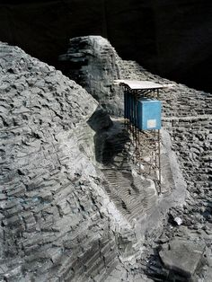 modelarchitecture: Zink-Mine-Museum (2003-in corso/ongoing) | Peter Zumthor Location: Almannajuvet, Sauda