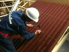 How to fix Onduline roofing sheets